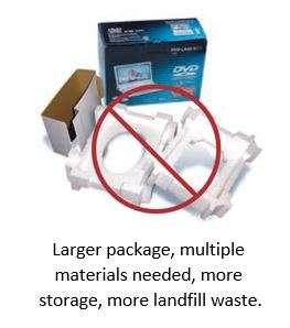 old packaging